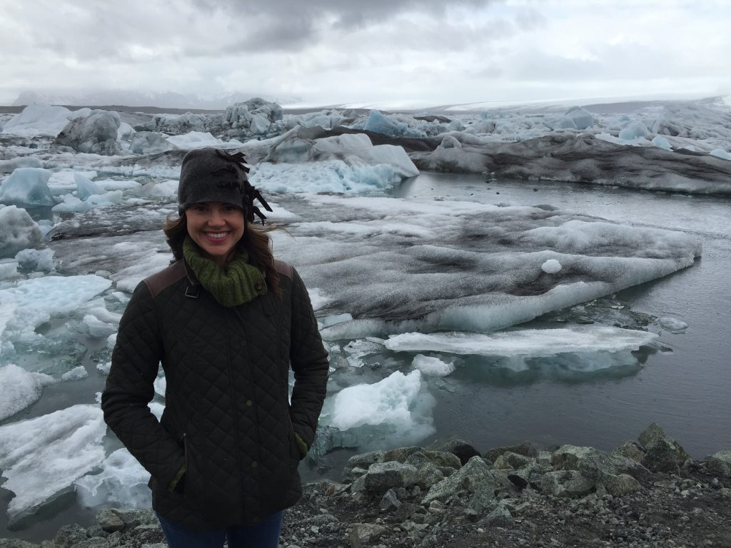 Hoping we can turn climate change around to save the melting glaciers in Jökulsárlón, Iceland